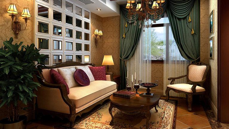 家庭装修 室内装修 高度国际 尚层 东易 三居 欧式 简约 混搭 其他图片来自高度国际装饰王伟在K2百合湾--四居室简欧风格的分享