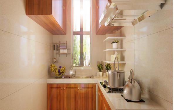 设计理念:根据户型,将厨房空间合理利用,将实用美观让居家生活的贴心快乐从清早开始就伴随全家人。
