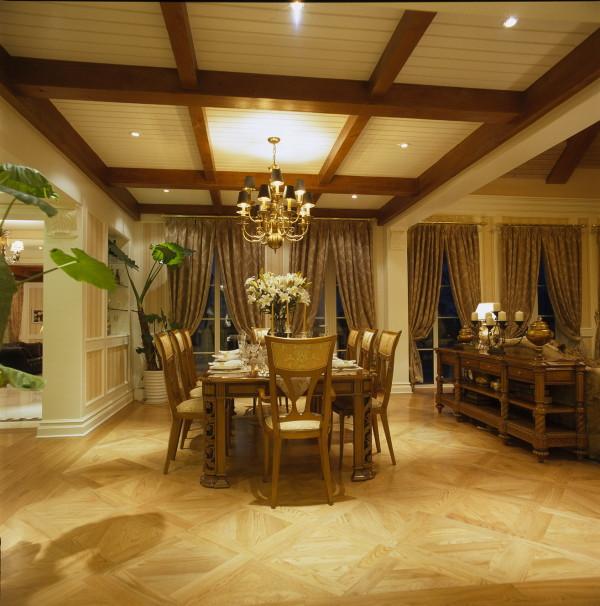 餐厅:以舒缓的暖色调,让餐厅更加悠然浪漫温馨