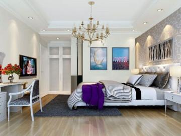 三居室简欧风格高雅而温馨!