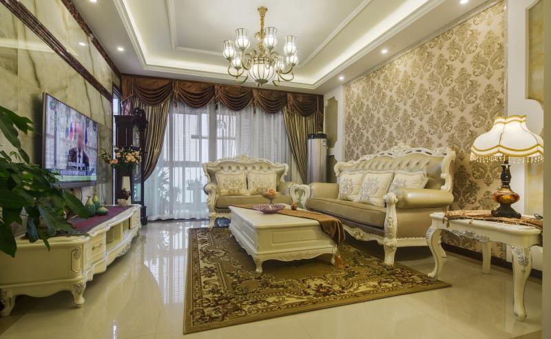 欧式 三居 温馨 浪漫 甜蜜 客厅图片来自fy310468976在欧式风格的分享