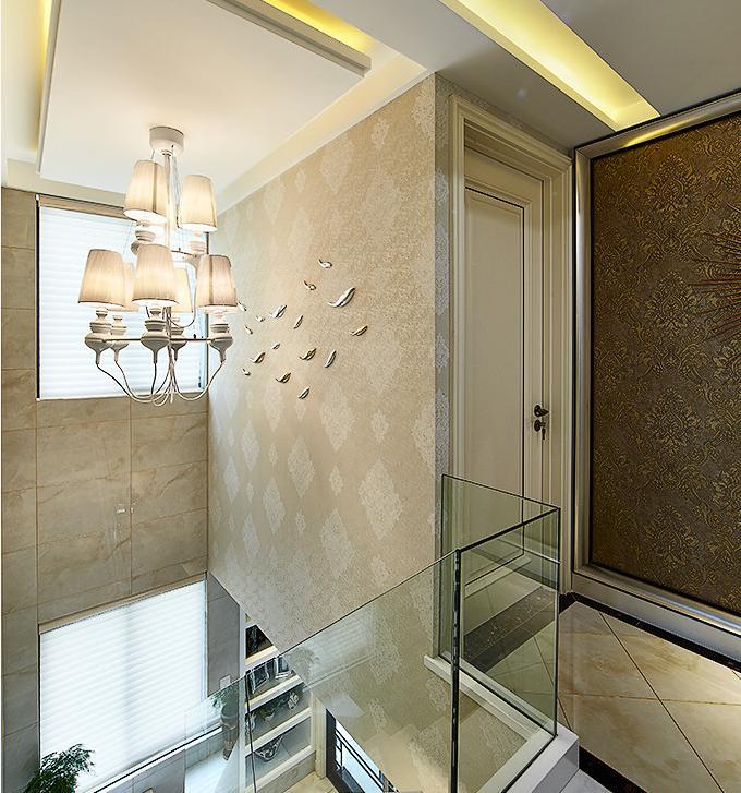 楼梯图片来自佰辰生活装饰在260方轻奢风小窝的分享