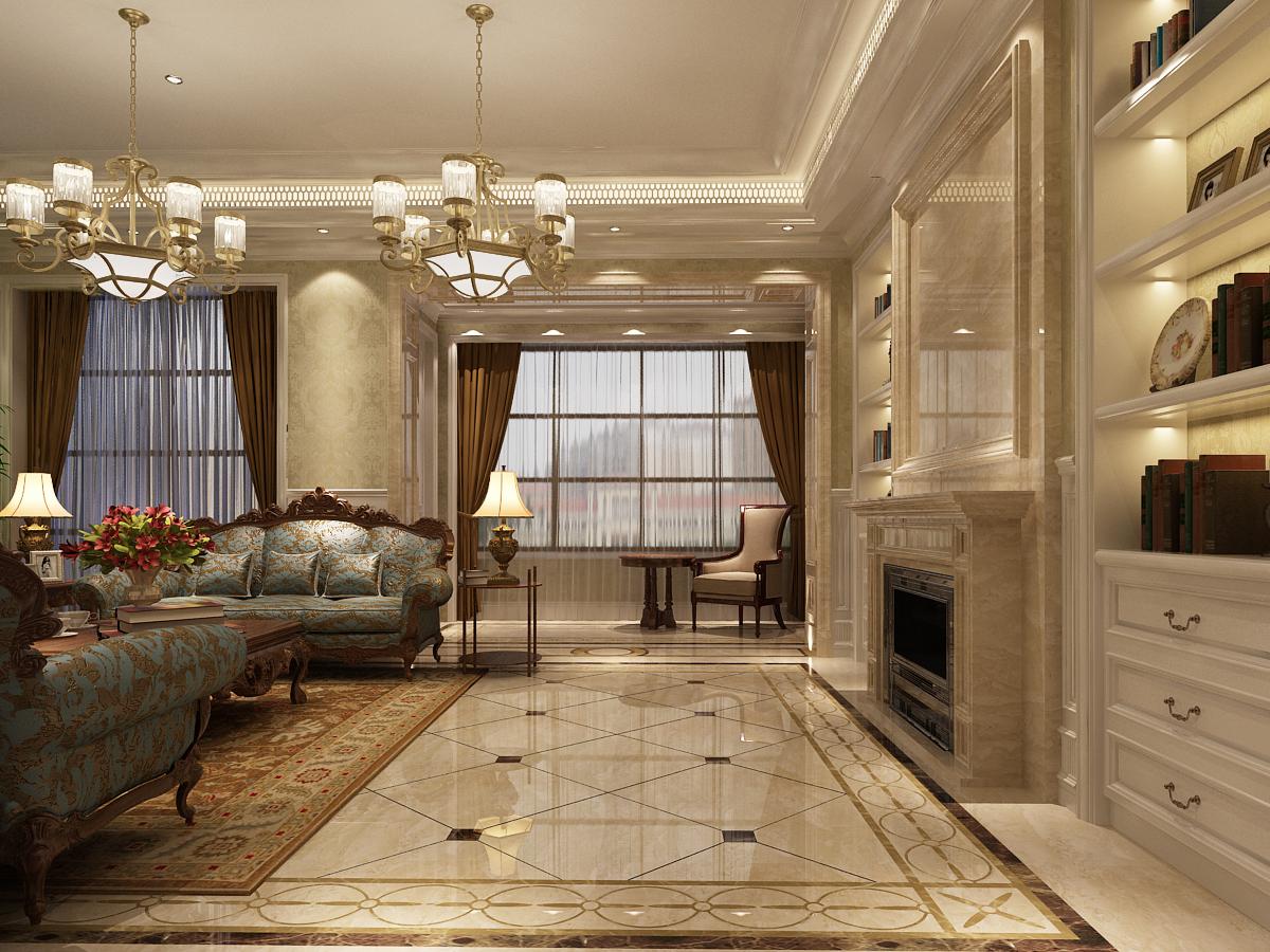 客厅图片来自用户1721279202在杭州昆仑府美式乡村三代同堂的分享