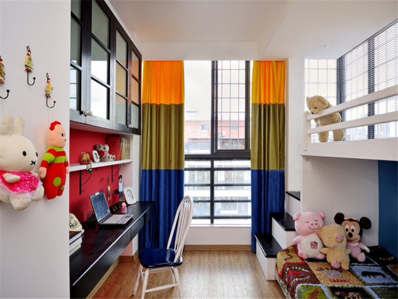 80后 小资 收纳 地中海 小清新 儿童房图片来自成都生活家装饰在保利城165平米地中海风格的分享