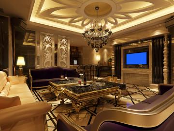 杭州香港城330方简欧排屋奢华