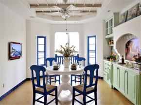 80后 小资 收纳 地中海 小清新 餐厅图片来自成都生活家装饰在保利城165平米地中海风格的分享