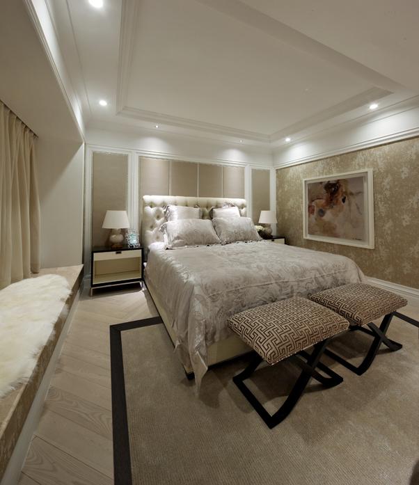 简约 欧式 别墅 卧室图片来自郑鸿在唯爱简白—中信红树湾的分享