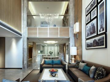 770平米自建别墅的现代简约空间