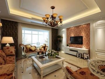 融侨馨苑160-简欧风格迷人的设计