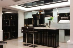 别墅 港式 小资 顺义 厨房图片来自今朝装饰老房装修通王在现代港式独栋别墅的分享