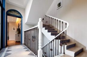 地中海 别墅 小资 顺义 楼梯图片来自今朝装饰老房装修通王在别墅浪漫唯美地中海的分享