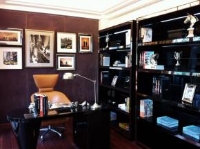 别墅 港式 小资 顺义 书房图片来自今朝装饰老房装修通王在现代港式独栋别墅的分享