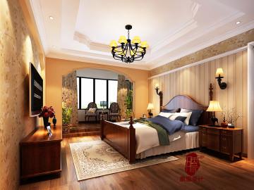 甘肃省兰州200平复式 美式风格
