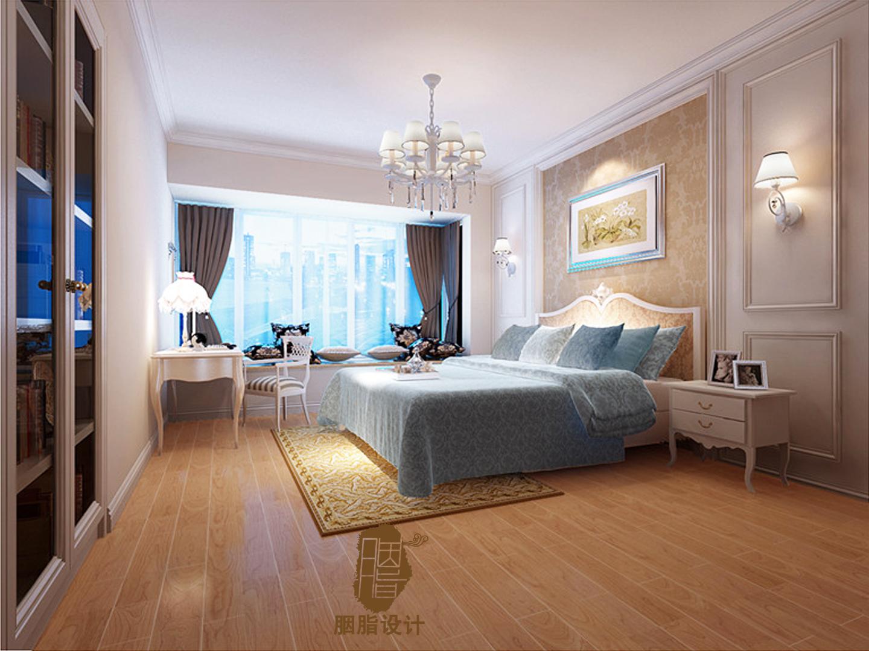 胭脂设计 重庆案例 龙湖原著 别墅 欧式 卧室图片来自设计师胭脂在重庆龙湖原著别墅的分享