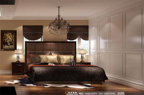 中铁瑞景城卧室房细节效果图-成都高度国际装饰