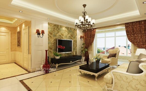 【今朝装饰www.xajzzs.cn】:紫薇永和坊-150平三居室-简欧风格(本小区装修设计98套)