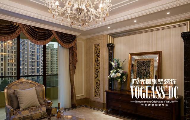 欧式 装修 装修设计 80后 小资 客厅图片来自武汉尚层装饰小周在融科天城的分享