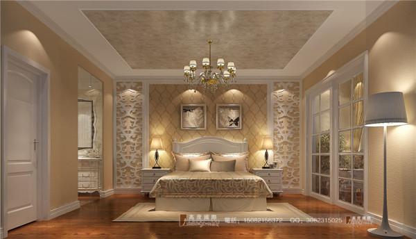 恒大金碧天下卧室细节效果图-成都高度国际装饰