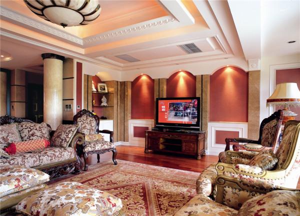 棕榈滩高尔夫别墅户型装修设计完工案例实景展示,欧美风格设计!