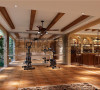 成都高度国际装饰设计-地下室