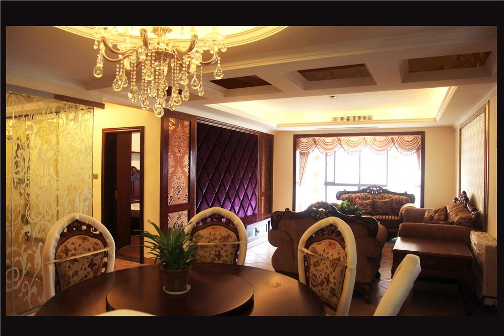 欧式 混搭 白领 80后 小资 餐厅图片来自长沙金煌装饰在融科东南海四室两厅欧式风格的分享