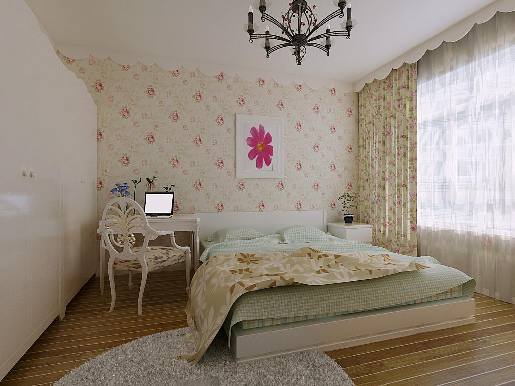 卧室图片来自今朝装饰李海丹在兆丰园小区的分享