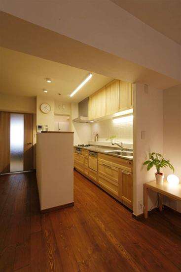 日升装饰 西安日升装 厨房图片来自装修设计芳芳在日式130平温馨五口之家的分享