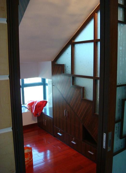 中式 星汇文瀚 四居室 新房装修 实创装饰 楼梯图片来自传承正能量在188平退休老人的中式四居室的分享
