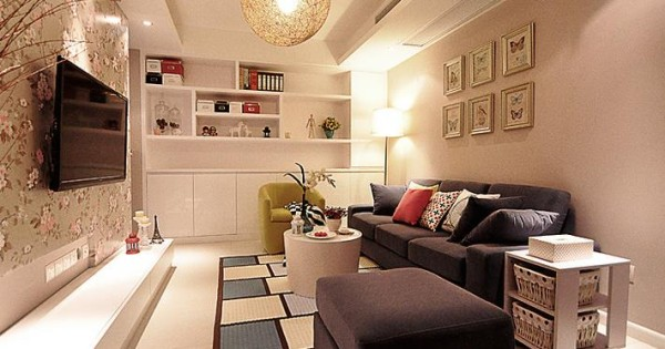 客厅清晰舒适