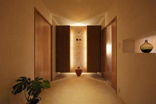 日升装饰 西安日升装 玄关图片来自装修设计芳芳在日式130平温馨五口之家的分享