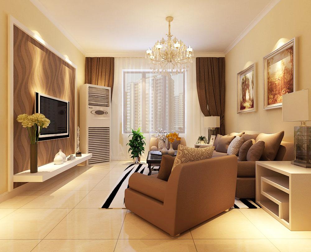 二居 小资 80后 旧房改造 白领 收纳 简约 客厅图片来自阳光力天装饰梦想家更爱家在众泰新苑2室2厅97㎡现代风的分享
