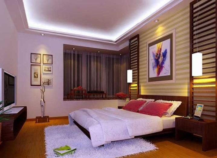 现代简约 三居 80后 东城华庭 卧室图片来自传承正能量在经济、实用、舒适简约-东城华庭的分享