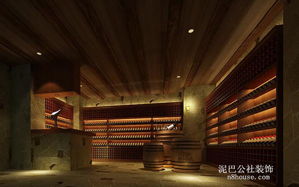 红酒储藏地窖,超级大气