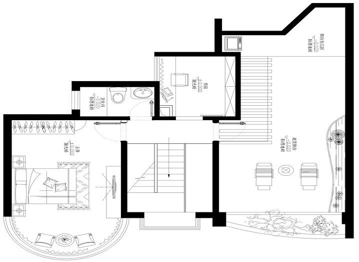 中式 星汇文瀚 四居室 新房装修 实创装饰 户型图图片来自传承正能量在181平退休老人的中式四居室的分享