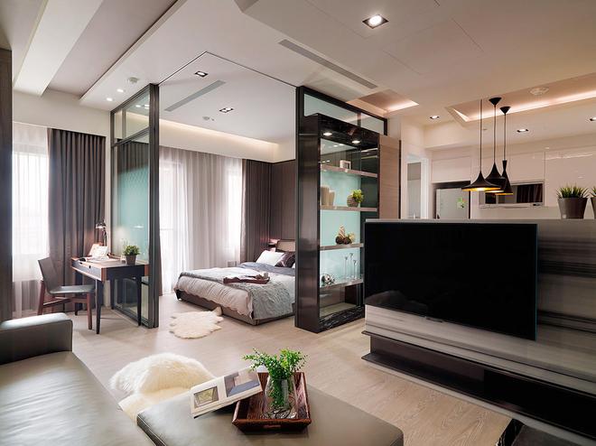 简约 白领 80后 客厅图片来自天津都市新居装饰有限公司在恒盛SOHO二号楼的分享