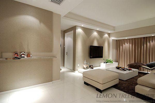 混搭 三居 80后 小资 收纳 白领图片来自柠檬树装饰-胡裕在二人世界98平三室两厅时尚婚房的分享