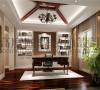 成都高度国际装饰设计-书房