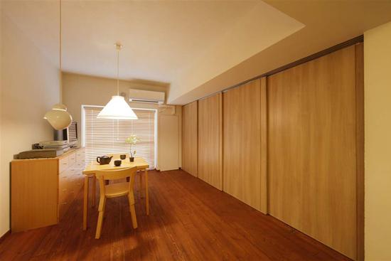 日升装饰 西安日升装 餐厅图片来自装修设计芳芳在日式130平温馨五口之家的分享