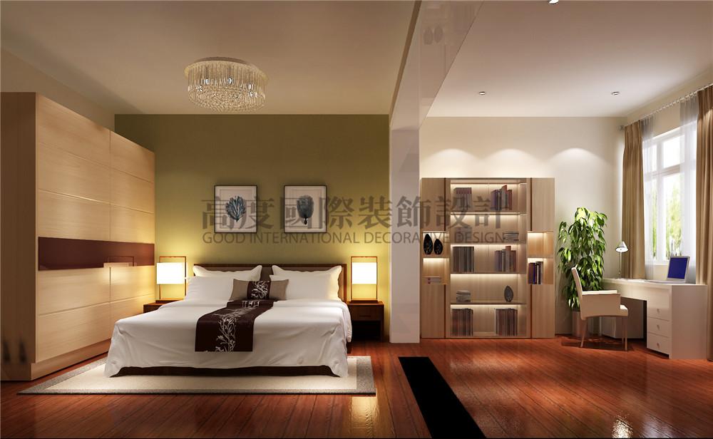 简约 二居 白领 收纳 80后 小资 卧室图片来自成都高度国际在高度最新设计装修案例 现代风格的分享