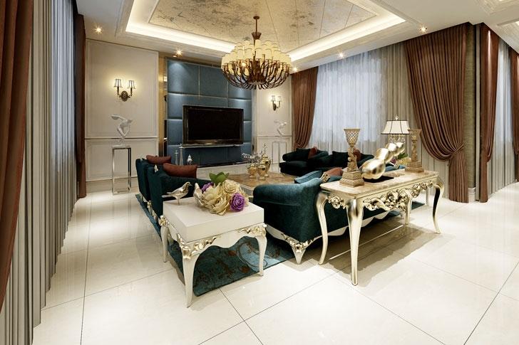 客厅图片来自今朝装饰李海丹在龙湖香醍西岸的分享