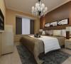 设计理念:尽可能的创造一个舒心而安静的休息空间。 亮点:采用的暖色调灯光和深色的墙面背景,给人一种宁静安逸温馨而舒适的感觉。