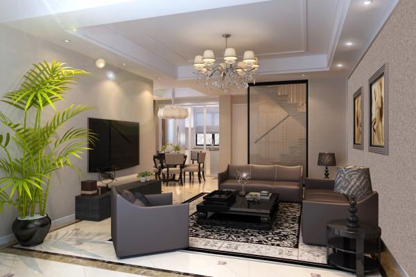 宝华北岸郡庭别墅装修现代简约风格设计方案展示——上海聚通装璜