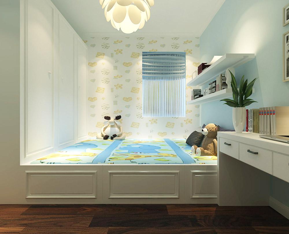 二居 小资 80后 旧房改造 白领 收纳 简约 卧室图片来自阳光力天装饰梦想家更爱家在众泰新苑2室2厅97㎡现代风的分享