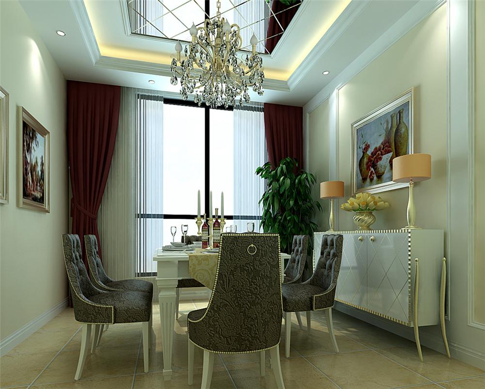 三居 混搭 白领 收纳 80后 小资 餐厅图片来自实创装饰完美家装在怀柔龙泉小区180平混搭风格案例的分享
