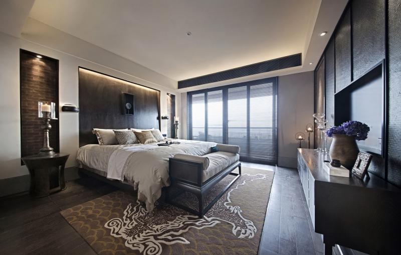 混搭 简约 卧室图片来自武汉豪迪装饰公司在雷苑小区现代简约风格的分享