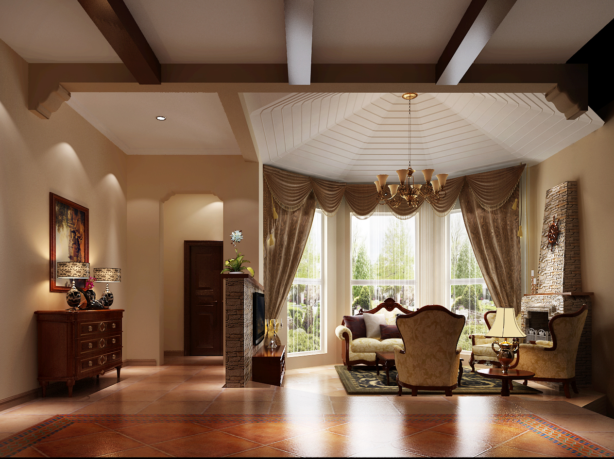 琉森湖 托斯卡纳 别墅 客厅图片来自沙漠雪雨在琉森湖 托斯卡纳别墅的分享