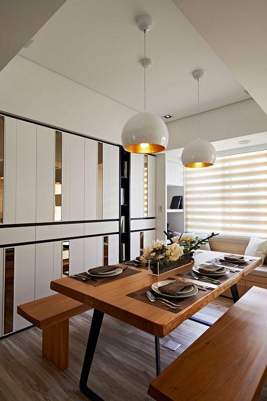 混搭 二居 白领 80后 小资 餐厅图片来自天津都市新居装饰有限公司在和平天赐园 混搭风格 都市新居的分享