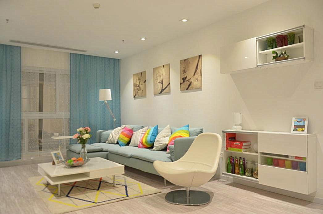 二居 宜家风格 回迁房 客厅图片来自实创装饰晶晶在使用69平2室回迁宜家之居的分享