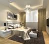 客房的设计体现了简约时尚的设计理念,大方有秩的几何形床柜,配套柔软舒适的地毯,让客人有一个温馨舒适的好梦。
