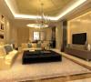客厅以简约为主,简介大方,整个室内主要以暖色为基调,线条清晰简洁,灯光柔和让整个室内空间既时尚又不显得冷清。